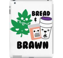 Bread & Brawn Kawaii Drugs Weed Pills Lean Funny Japanese Brawn & Bread Original iPad Case/Skin