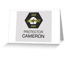 CPS - Protector Cameron Greeting Card