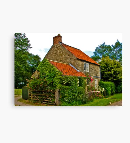 Country Cottage - Nunnington Canvas Print