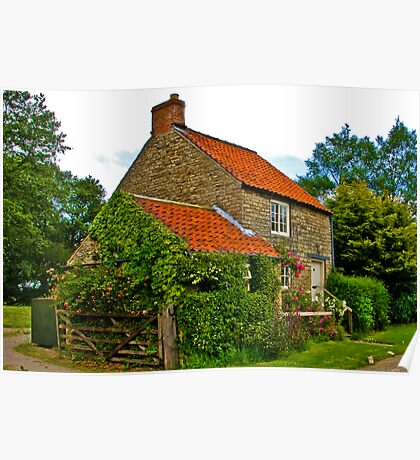 Country Cottage - Nunnington Poster