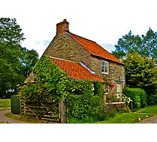 Country Cottage - Nunnington Photographic Print