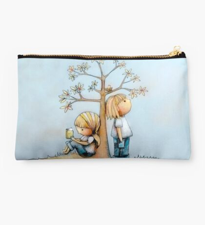 stop and smell the flowers Studio Pouch