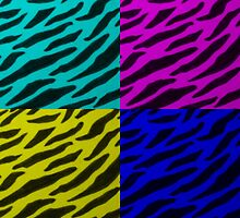 Zebra Print Collage by theseRmyDesigns