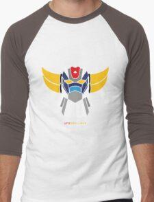 UfoRobot Men's Baseball ¾ T-Shirt