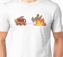 Fire vs Engine Unisex T-Shirt
