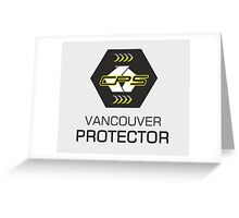 CPS Protector Greeting Card