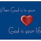 God Is In Your Life by Marie Sharp