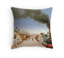 Steam Up, Bolton Abbey Throw Pillow