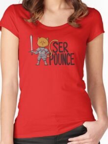 Ser Pounce Women's Fitted Scoop T-Shirt