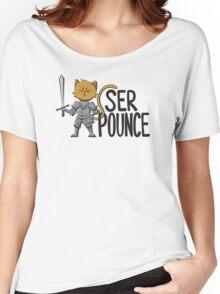 Ser Pounce Women's Relaxed Fit T-Shirt