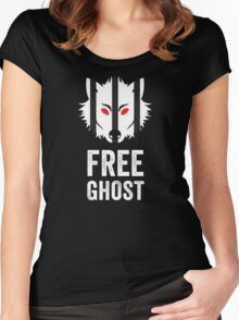 Free Ghost Women's Fitted Scoop T-Shirt