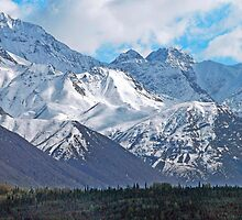 Chugach Mountain Range by Dyle Warren