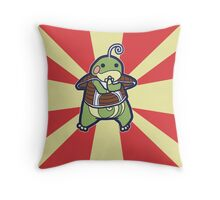 Politoed of the Ginyu Force Throw Pillow