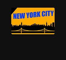 New York City Skyline Subway Card T-Shirt