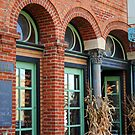 interesting building by Lynne Prestebak