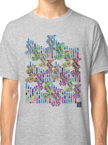 """Human Genome Double Helix""© Classic T-Shirt"