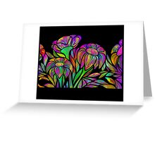 Floral Design Greeting Card