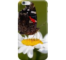 Butterfly on a Flower iPhone Case/Skin