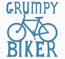 GRUMPY BIKER in blue Baby Tee