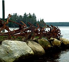 Anchors Ashore by George Cousins