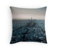 Paris la Nuit Throw Pillow