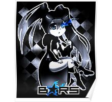 Black Rock Shooter Chibi Poster