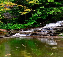 Ithaca's Buttermilk falls III by PJS15204