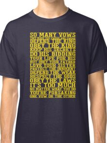 So Many Vows Classic T-Shirt