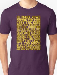 So Many Vows T-Shirt
