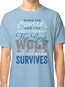 The Lone Wolf Classic T-Shirt