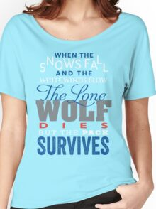 The Lone Wolf Women's Relaxed Fit T-Shirt