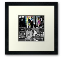 Like Night and Day - Slap in the Face - 2009 Portfolio Project Framed Print