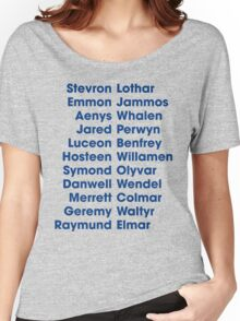 The 22 Trueborn sons of Walder Frey Women's Relaxed Fit T-Shirt