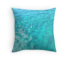Azure Ocean Throw Pillow