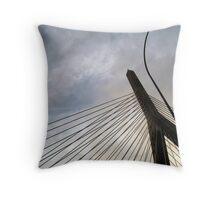 Zakim Bridge, Boston, MA Throw Pillow