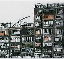 Speculative Tenement by Wayne Grivell