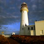 Lighthouse at Flamborough by Paul Morley