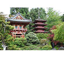 Pagodas Photographic Print