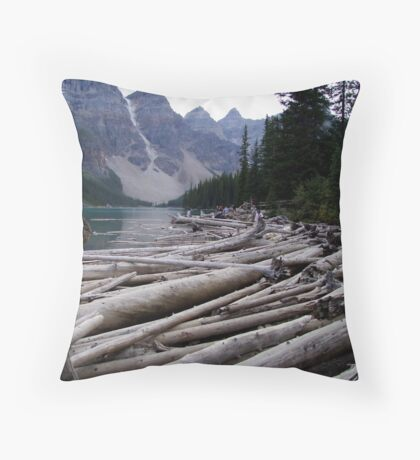 Flotsam In High Places Throw Pillow