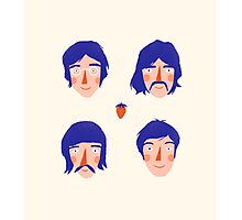 The Fab Four Photographic Print