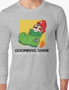 Super Mario - Goomba's Shoe Long Sleeve T-Shirt