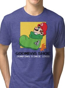 Super Mario - Goomba's Shoe Tri-blend T-Shirt