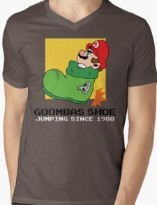 Super Mario - Goomba's Shoe Mens V-Neck T-Shirt