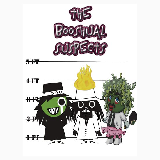 TShirtGifter presents: The Booshual Suspects