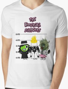 The Booshual Suspects Mens V-Neck T-Shirt