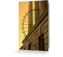 Architectural Element Greeting Card