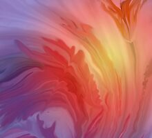 Life Is A Flower- Abstract  Art + Products Design  by haya1812