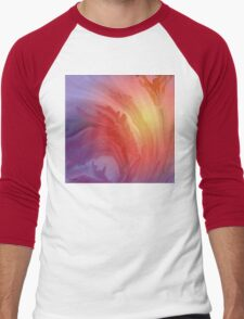 Life Is A Flower- Abstract  Art + Products Design  Men's Baseball ¾ T-Shirt