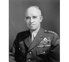 General Omar Bradley Photographic Print