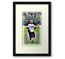 Baggy Pants Framed Print